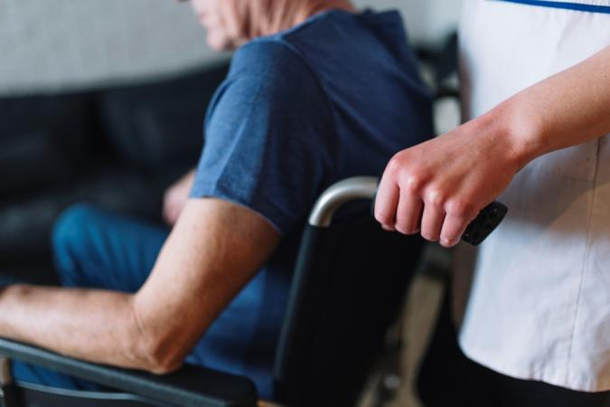 Caring the Elderly with a Chronic Disease