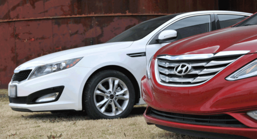 Hyundai and Kia Vehicles