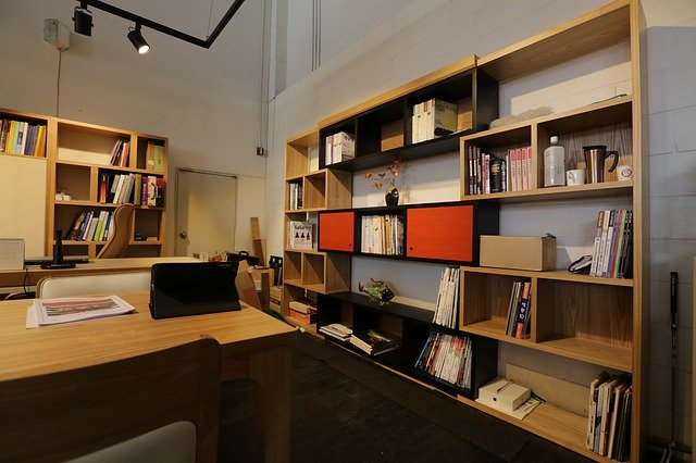 Improve Your Office with Custom Office Cabinetry