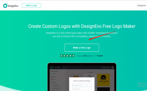 How to create a free logo online by DesignEvo