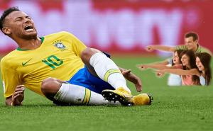 Neymar's Acting at World Cup Oscar Worthy