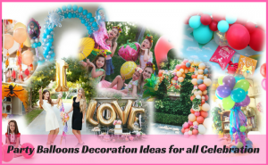 party balloon decoration ideas